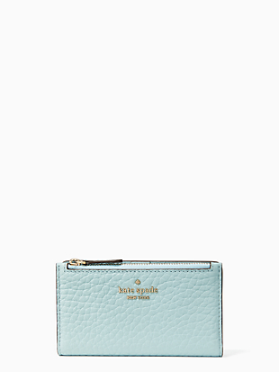leighton small slim bifold wallet by kate spade new york non-hover view
