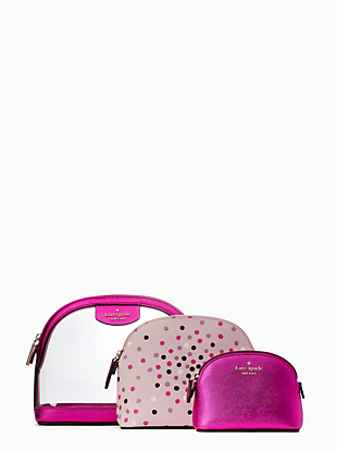 cindi triple dome cosmetic by kate spade new york hover view