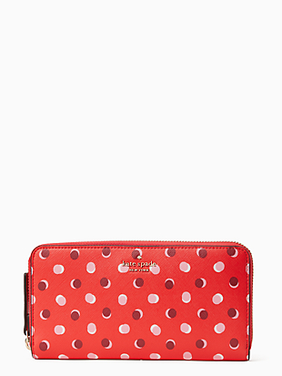 케이트 스페이드 Kate Spade laurel way fiesta dot neda,DIGITAL RED