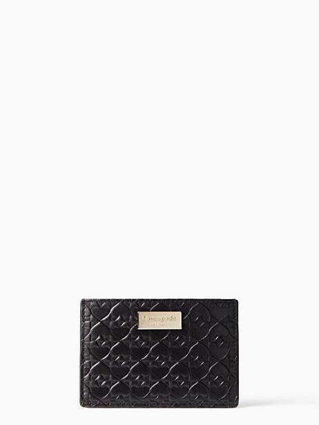 penn place embossed graham by kate spade new york