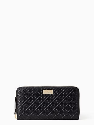 케이트 스페이드 Kate Spade penn place embossed neda,BLACK