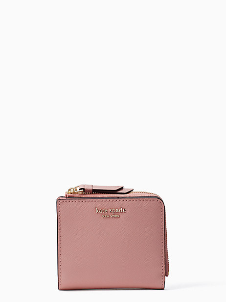 cameron small l-zip bifold wallet by kate spade new york