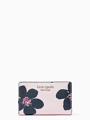 cameron medium bifold wallet by kate spade new york non-hover view