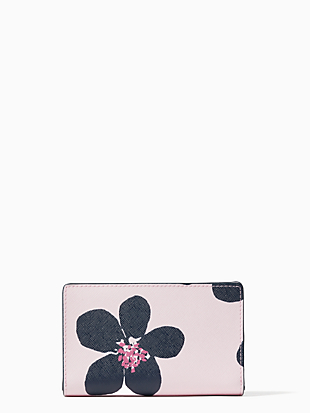 cameron medium bifold wallet by kate spade new york hover view