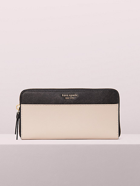 cameron large continental wallet by kate spade new york