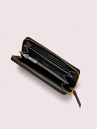 large continental wallet by kate spade new york hover view