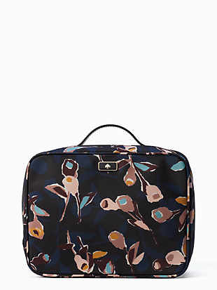 dawn paper rose travel cosmetic by kate spade new york non-hover view