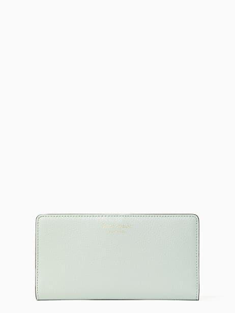 케이트 스페이드 Kate Spade eva large slim bifold wallet