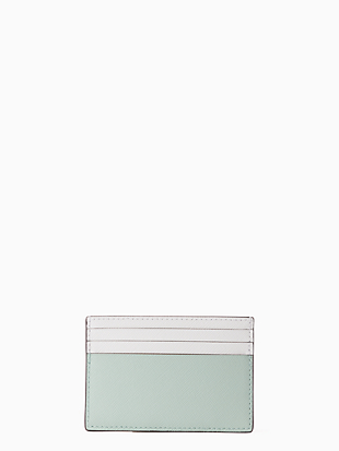 cameron small slim card holder by kate spade new york hover view