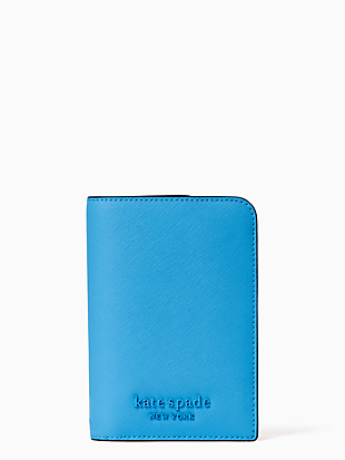 cameron monotone passport holder by kate spade new york non-hover view
