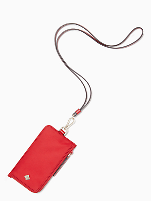 jae card case lanyard by kate spade new york non-hover view