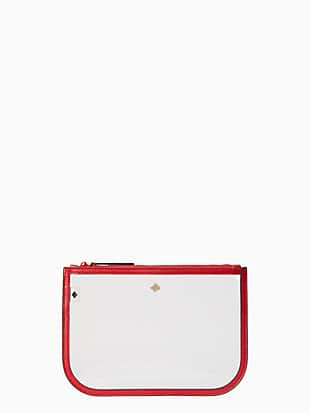 jae slim cosmetic pouch by kate spade new york non-hover view