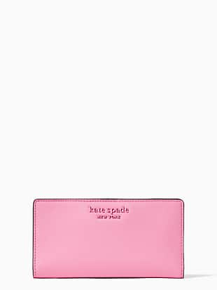 cameron large slim bifold wallet by kate spade new york non-hover view