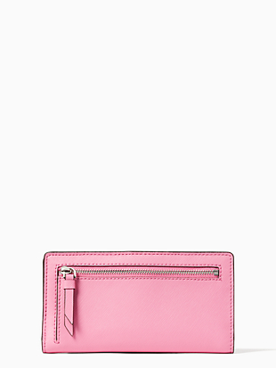 cameron large slim bifold wallet by kate spade new york hover view