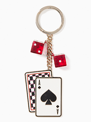 key fobs metal card by kate spade new york non-hover view