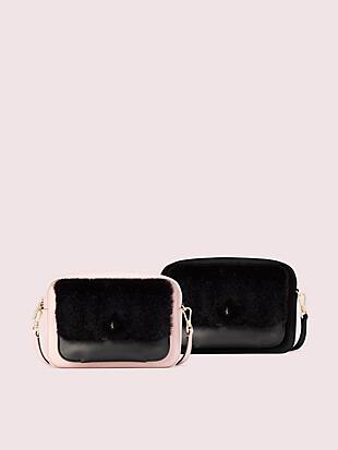 make it mine camera bag and faux fur pouch by kate spade new york non-hover view