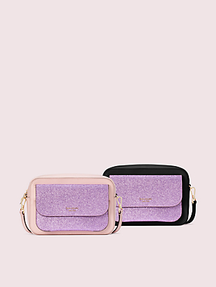 make it mine camera bag and glitter pouch by kate spade new york non-hover view
