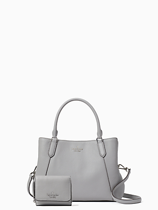 medium satchel and wallet bundle by kate spade new york non-hover view
